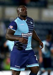 Adebayo Akinfenwa of Wycombe Wanderers - Mandatory by-line: Robbie Stephenson/JMP - 09/08/2016 - FOOTBALL - Adams Park - High Wycombe, England - Wycombe Wanderers v Bristol City - EFL League Cup