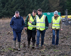 **All images embargoed until 00:01 6 February**<br /> <br /> Derek Mackay Tree Planting, 5 February 2020<br /> <br /> Finance Secretary Derek Mackay visited Thornton Wood near Kelty in Fife ahead of publishing the Scottish Budget on Thursday 6 February.<br /> <br /> Tackling the global climate emergency will be at the heart of this week's Budget.<br /> <br /> During the visit, Mr Mackay planted a tree as part of the Scottish Government's commitment to support forestry creation through planting 12,000 hectares of woodland this year. This will be supported by an additional £5 million investment.<br /> <br /> The site is run by Forestry and Land Scotland, and is a former opencast mining site which is now being restored to forestry.<br /> <br /> Pictured: Finance Secretary Derek Mackay with Forestry and Land Scotland workers<br /> <br /> Alex Todd | Edinburgh Elite media