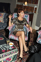 KATHY LETTE at the Andrew Martin 2008 International Interior Designer of the Year Award held at The Haymarket Hotel, 1 Suffolk Place, London SW1 on 22nd September 2008.