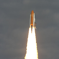 The NASA Shuttle Atlantis launch from Kennedy Space Center on Nov. 16, 2009..Photo: Alex Menendez