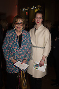 LADY ANTONIA FRASER; BLANCHE FITZGERALD, Painting the Modern Garden: Monet to Matisse Royal Academy of Art. Piccadilly, London. 26 January 2016