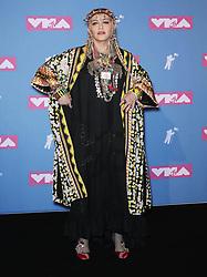 August 21, 2018 - New York City, New York, USA - 8/20/18.Madonna at the 2018 MTV Video Music Awards at Radio City Music Hall in New York City. (Credit Image: © Starmax/Newscom via ZUMA Press)
