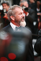 Mel Gibson at the The Expendables 3 red carpet at the 67th Cannes Film Festival France. Sunday 18th May 2014 in Cannes Film Festival, France.