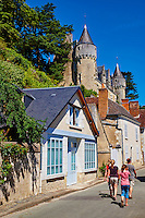 France, Indre-et-Loire (37), Montrésor, classé Les Plus Beaux Villages de France, le chateau // France, Indre-et-Loire (37), Montrésor,  classified Les Plus Beaux Villages de France or the Most beautiful villages of France, the castle