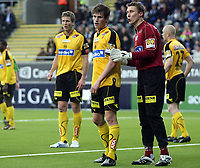 Fotball , 14. mars 2009 , Tippeligaen , Stabæk - Lillestrøm 1-1<br /> Håvard Nordtveit og Otto Fredrikson, Lillestrøm