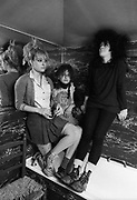 The Slits bathroom photosession 1982 Ari Up and Viv Albertine