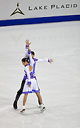 Nov 14, 2009: Xiaoyang Yu and Chen Wang of China compete in the Ice Dance Original Dance competitionat Skate America 2009 at the Herb Brooks Arena in Lake Placid, N.Y. (ORDA Photo /Todd Bissonette)