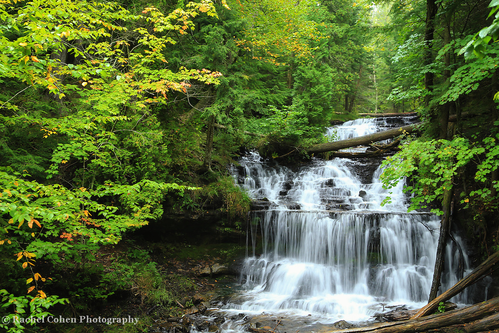 &quot;Rain on Wagner Falls&quot;<br />