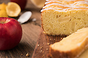 Apple Buttermilk Loaf Cake by Rodney Bedsole, a food photographer based in Nashville and New York City.