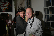 Laura K. Jones and Anthony Hayden-Guest After-party to celebrate the opening of Mata Marce.given by Tot Taylor .  Campden. London. 12 July 2007. -DO NOT ARCHIVE-© Copyright Photograph by Dafydd Jones. 248 Clapham Rd. London SW9 0PZ. Tel 0207 820 0771. www.dafjones.com.