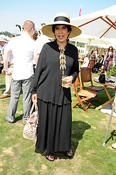 MOIRA STEWART at the Cartier International Polo at Guards Polo Club, Windsor Great Park on 27th July 2008.<br /> <br /> NON EXCLUSIVE - WORLD RIGHTS