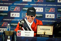 Ward McLain, USA<br /> Longines FEI World Cup Jumping Final IV, Omaha 2017 <br /> © Hippo Foto - Dirk Caremans<br /> 03/04/2017