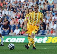 The Hawthorns West Bromwich Albion v Newcastle United (1-1) Championship 08/08/2009<br /> Damien Duff  (Newcastle) <br /> Photo Roger Parker Fotosports International