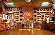 Interior of Samye Ling Buddhist Monastery