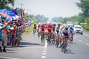 Tour of Thailand 2015/ Stage2/ Buri Ram - Roi-Et/ Seoul Cycling