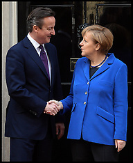 FEB 27 2014 David Cameron meets Angela Merkel