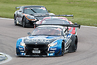 #79 Marco Attard/Alexander Sims - Barwell Motorsport Ecurie Ecosse, BMW Z4 GT3 during British GT Championship race at Rockingham, Corby, Northamptonshire, United Kingdom. May 05 2014. World Copyright Peter Taylor/PSP. Copy of publication required for printed pictures.  Every used picture is fee-liable. http://archive.petertaylor-photographic.co.uk