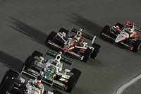 Scott Dixon, Tony Kanaan, Helio Castroneves, Cafes do Brasil Indy 300, Homestead Miami Speedway, Homestead, FL USA,10/2/2010
