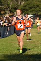Boston College Invitational Cross Country race at Franklin Park; Ryan Urie, Syracuse