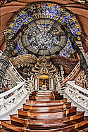The Stairway to Heaven, Erawan Museum in Samut Prakan, southeast of Bangkok, Thailand.
