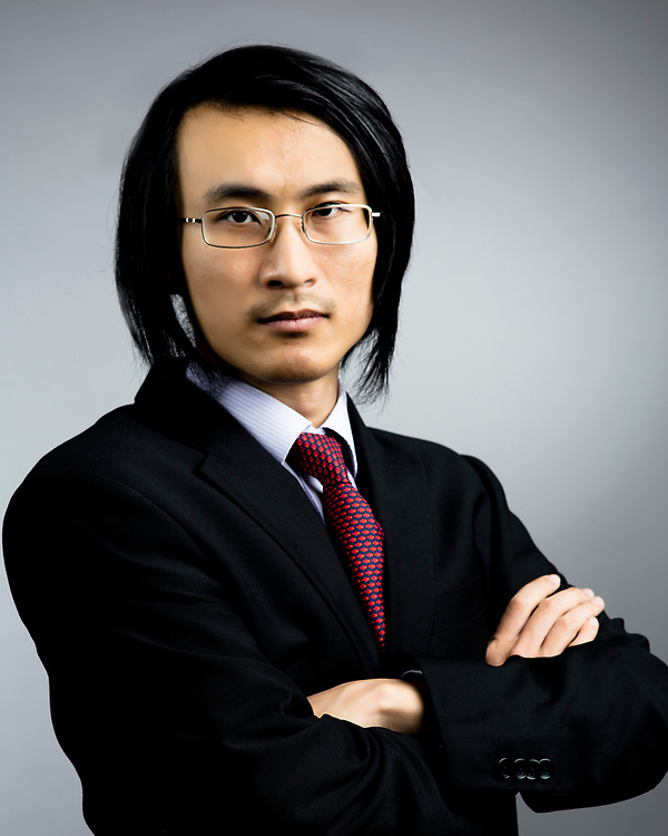 Business headshot for asian male.