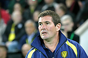 Burton Albion Manager Nigel Clough during the EFL Sky Bet Championship match between Norwich City and Burton Albion at Carrow Road, Norwich, England on 12 September 2017. Photo by John Potts.