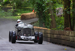 Boness Revival hillclimb motorsport event in Boness, Scotland, UK. The 2019 Bo'ness Revival Classic and Hillclimb, Scotland's first purpose-built motorsport venue, it marked 60 years since double Formula 1 World Champion Jim Clark competed here.  It took place Saturday 31 August and Sunday 1 September 2019. 23, Fraser Ewart, Bentley Mk6 Special