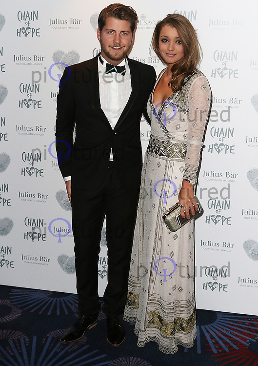 Stevie Johnson, Chain of Hope Gala Ball, Grosvenor House, London UK, 20 November 2015, Photo by Brett D. Cove