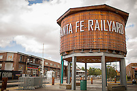 Santa Fe, New Mexico - September 28, 2014: The Santa Fe Railyard is a 50-acre commericial, residential and social district. On Sundays the Railyard Artisan Market, where shoppers will find handcrafted goods of all kinds, is hosted in the farmers' market pavilion. CREDIT: Chris Carmichael for the New York Times