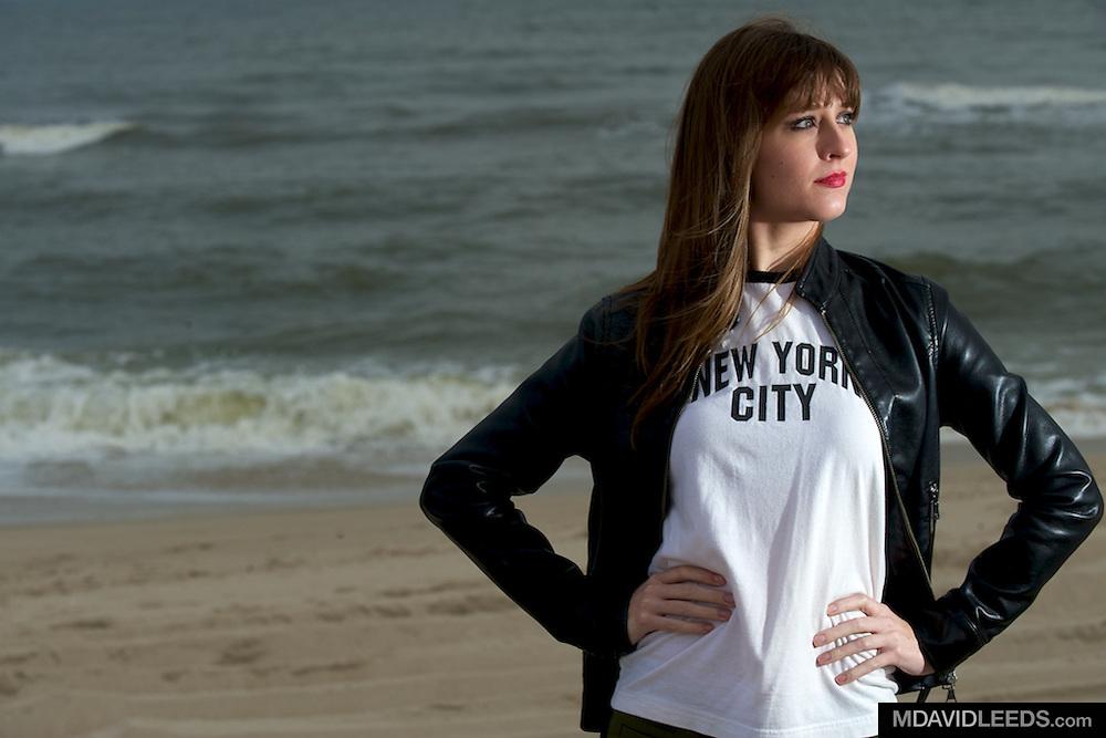 11 November 2011 LONG BEACH ISLAND, NJ: A portrait of Rachel Allyn taken on Long Beach Island, NJ.<br /> MANDATORY CREDIT: M David Leeds