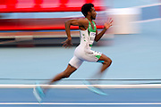 Yousef Ahmed Masrahi from Kingdom of Saudi Arabia competes in men's 400 meters qualification during the 14th IAAF World Athletics Championships at the Luzhniki stadium in Moscow on August 11, 2013.<br /> <br /> Russian Federation, Moscow, August 11, 2013<br /> <br /> Picture also available in RAW (NEF) or TIFF format on special request.<br /> <br /> For editorial use only. Any commercial or promotional use requires permission.<br /> <br /> Mandatory credit:<br /> Photo by &copy; Adam Nurkiewicz / Mediasport