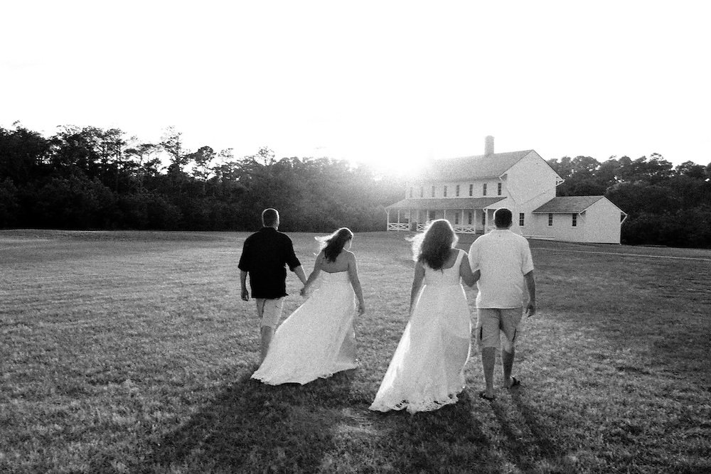 Hatteras Island Wedding, outer banks, NC, beach, lighthouse, Ocracoke, photos B&W, Black and white
