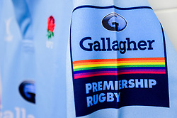 Rainbow colours on the Gallagher Premiership Rugby RFU Match Officials Kit that will be worn by referees and touch judges this weekend  - Mandatory by-line: Ryan Hiscott/JMP - 24/11/2018 - RUGBY - Sandy Park Stadium - Exeter, England - Exeter Chiefs v Gloucester Rugby - Gallagher Premiership Rugby