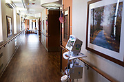 A view inside the Hospice wing at the Tomah VA Facility in Tomah, Wisconsin, Monday, April 23, 2018.