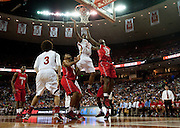 Jalon Anderson (23) of South Grand Prairie makes a basket against Fort Bend Travis during the UIL 5A state championship game at the Frank Erwin Center in Austin on Saturday, March 9, 2013. (Cooper Neill/The Dallas Morning News)