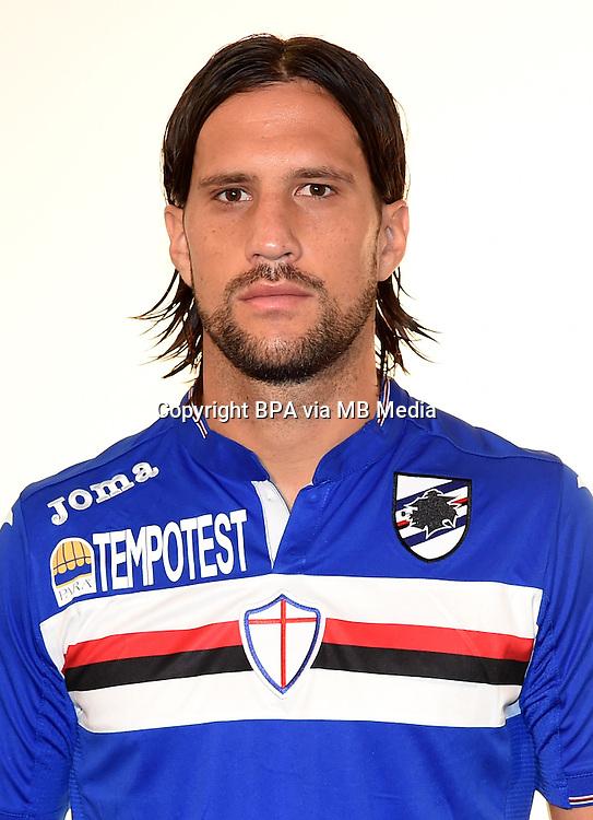 Italian League Serie A -2015-2016 / <br /> ( UC Sampdoria  ) - <br /> Matias Agustin Silvestre &quot; Matias Silvestre &quot;