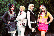 Cosplayers at the Anime fest 2012 in the city of Brno. Animefest is the oldest and largest anime and manga convention in the Czech Republic with around 2000 attendees in 2012.