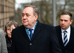 Edinburgh, Scotland, UK. 11 March, 2020.  Alex Salmond appears at High Court in Edinburgh third day of his trial. He is accused of various sexual offences all of which he denies. Iain Masterton/Alamy Live News
