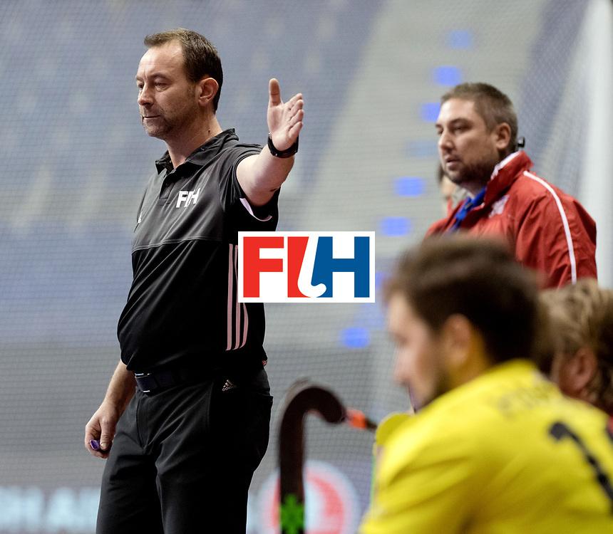 BERLIN - Indoor Hockey World Cup<br /> Women: Czech Republic - Germany <br /> foto: Lee Barron.<br /> WORLDSPORTPICS COPYRIGHT FRANK UIJLENBROEK