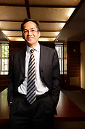 Photo ©2009 Tom Wagner. Portrait of Stephen Jen, Managing Director of Macroeconomics and Currencies at BlueGold Capital Management LLP in London offices for the company.  ©Tom Wagner 2009, all moral rights asserted.