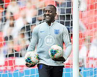 Football - 2018 / 2019 UEFA European Championships Qualifier - Group A: England vs. Bulgaria<br /> <br /> Chris Powell - new addition to England's backroom staff, at Wembley Stadium.<br /> <br /> COLORSPORT/ANDREW COWIE