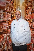 Executive chef Hamptead Hamde, Bern's Steakhouse, Tampa, Florida.