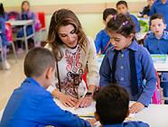 Queen Rania Visits  Back-to-School Health Fair