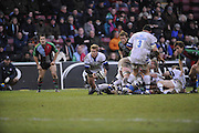 Twickenham, GREAT BRITAIN, Baths scrum half, Michael CLAASSENS,  during the Guinness Premiership match, Harlequins vs Bath Rugby at the Twickenham Stoop.  Sun. 16th Feb 2008. 16.03.2008.  [Mandatory Credit, Peter Spurrier/Intersport-images]