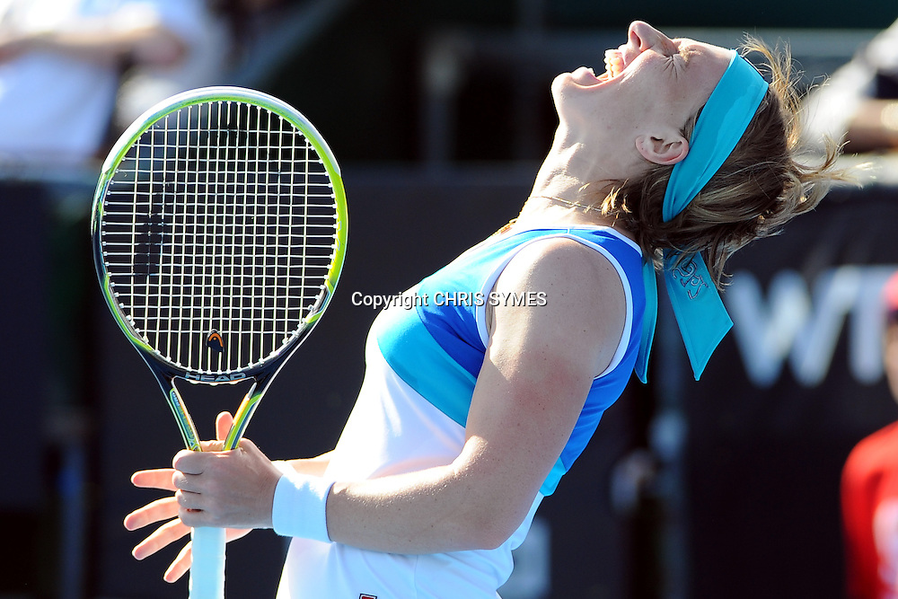 Svetlana Kuznetsova (RUS) during the ASB Tennis Classic Women`s International Day 1. ASB Tennis Centre, Auckland, New Zealand. Monday 31 December, 2012. Photo: Chris Symes/www.photosport.co.nz