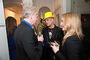 PHILIP TREACY; BOY GEORGE, Isabella Blow  by Martina Rink.  Haunch of Venison. London. 13 September 2010., DO NOT ARCHIVE-© Copyright Photograph by Dafydd Jones. 248 Clapham Rd. London SW9 0PZ. Tel 0207 820 0771. www.dafjones.com.