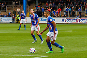 Carlisle United Midfielder Bastien Hery on the attack during the Sky Bet League 2 match between Carlisle United and Exeter City at Brunton Park, Carlisle, England on 17 October 2015. Photo by Craig McAllister.