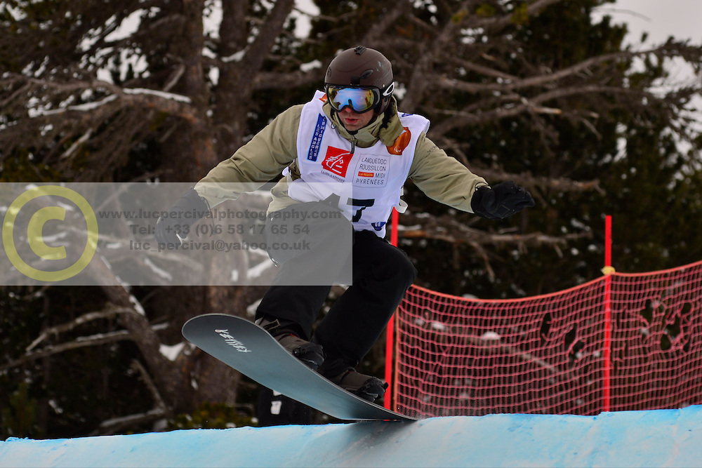 World Cup SBX, OSHAROV Ivan, UKR at the 2016 IPC Snowboard Europa Cup Finals and World Cup