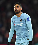 Emerson Palmieri (1) of Chelsea during the Premier League match between Bournemouth and Chelsea at the Vitality Stadium, Bournemouth, England on 30 January 2019.