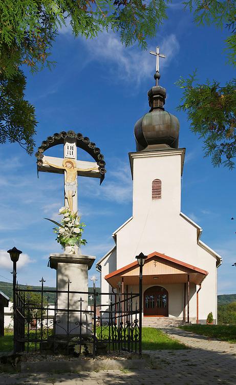 Church in Runina village, Slovakia.